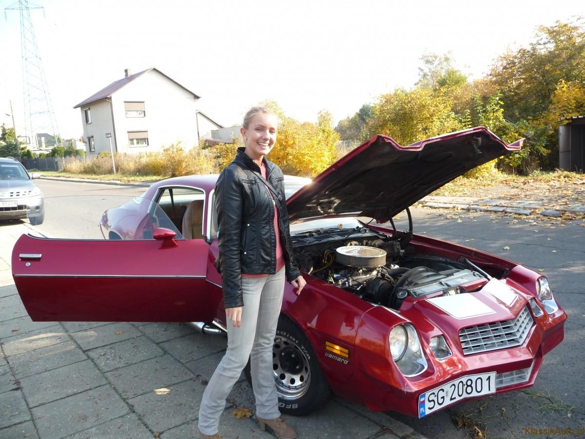 Marzena Jerzyńska-Redaktor Naczelny KA i Chevrolet Camaro. Foto: Ireneusz Budzyn