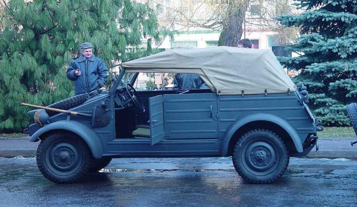 VW Typ 82 (1940-45r.). Część 2.