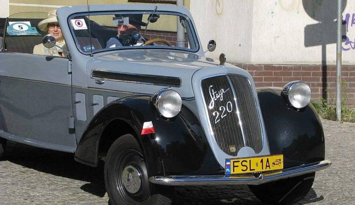 Retro auto: Steyr 220 (1937-41r.)!