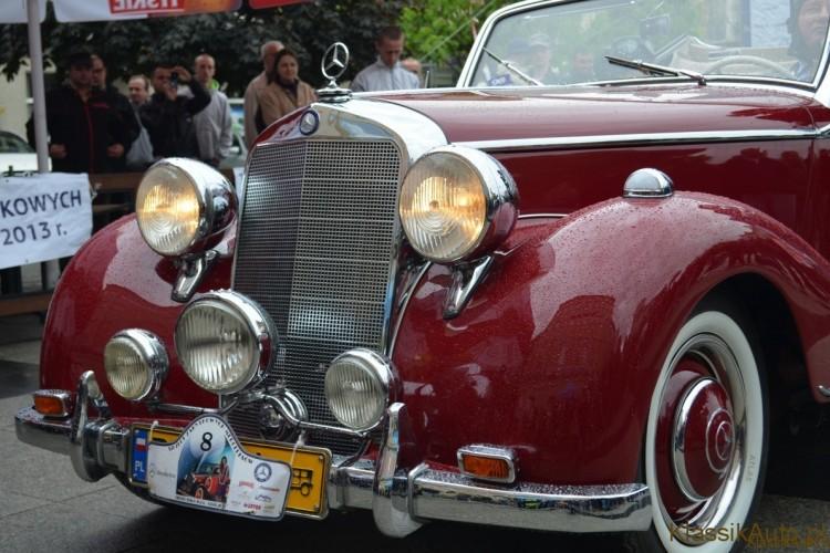 Zlot zabytkowych Mercedesów w Bielsku Białej 2013!