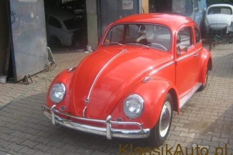 VW Garbus po wizycie w beskidzkim SPA!