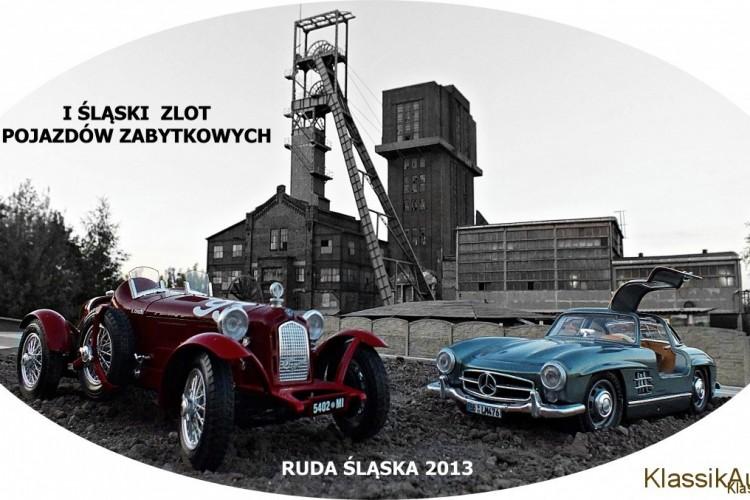 Logo - I Śląski Zlot Pojazdów Zabytkowych.