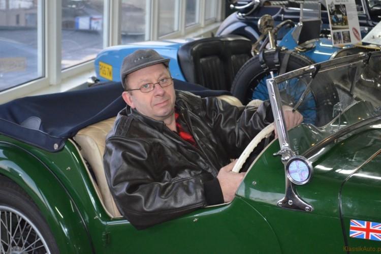 Bugatti w Auto-Muzeum w Gostyniu.