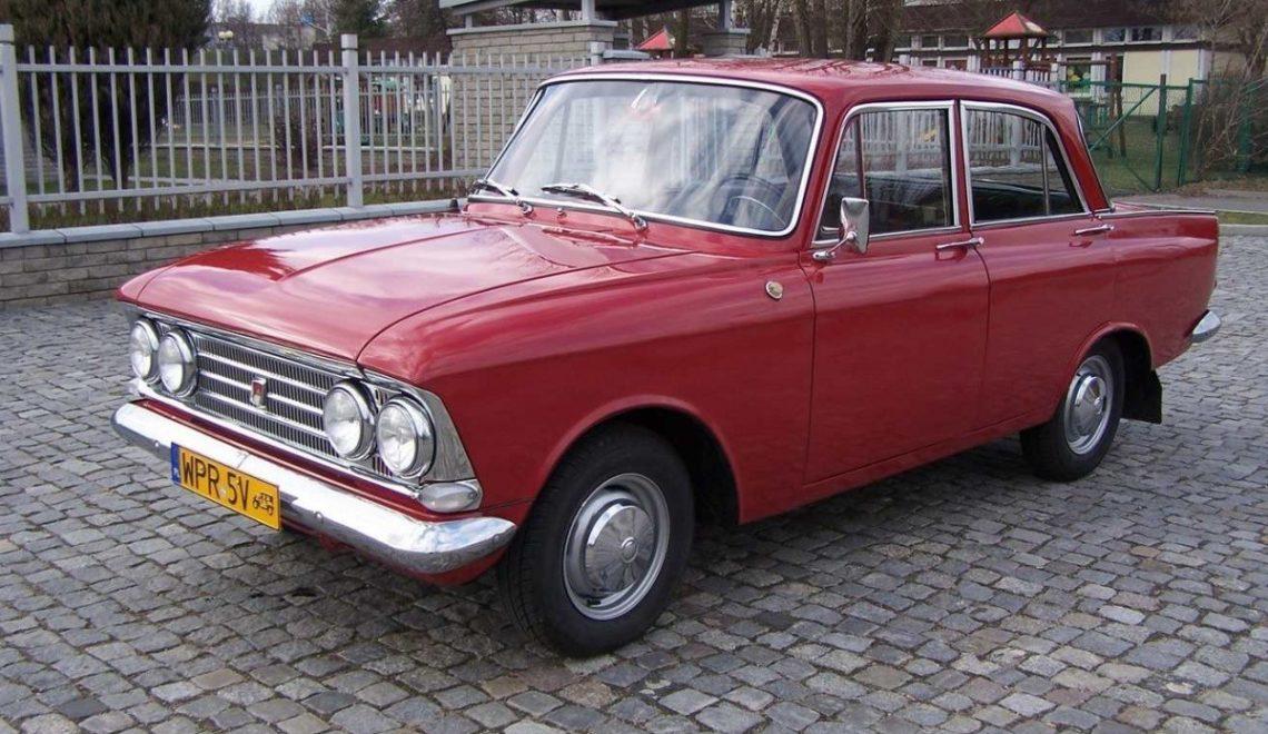 Samochód z duszą: Moskwicz 408 (1967r.).