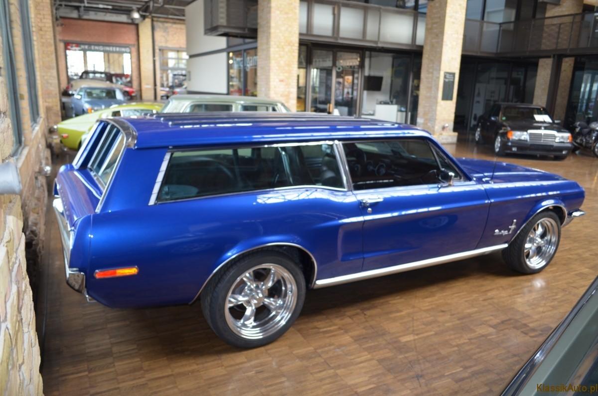 1966 Mustang Station Wagon >> Muscle car na wakacje z rodziną: Ford Mustang kombi. - KlassikAuto.pl