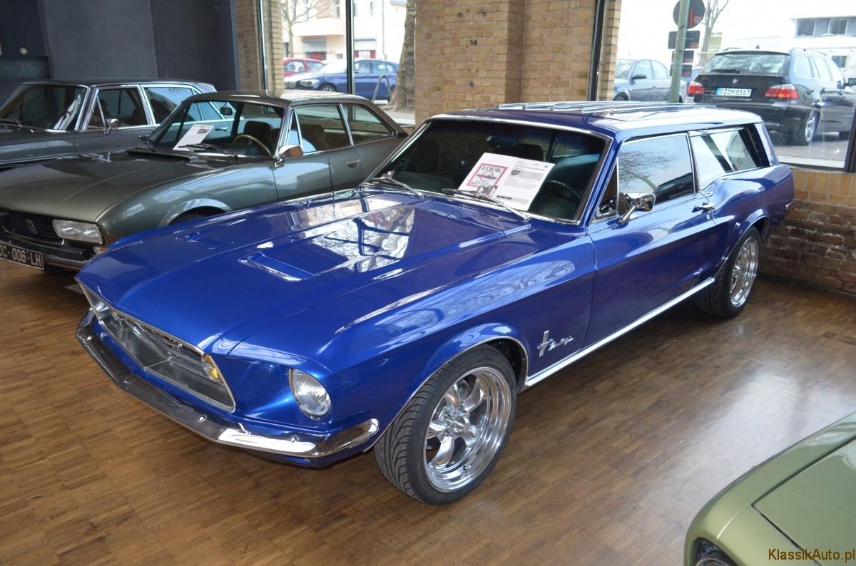 Shooting Brake Mustang New Car Price 2019 2020 Rx7 Fuel Pump Wiring Diagram Muscle Na Wakacje Z Rodzin Ford Kombi