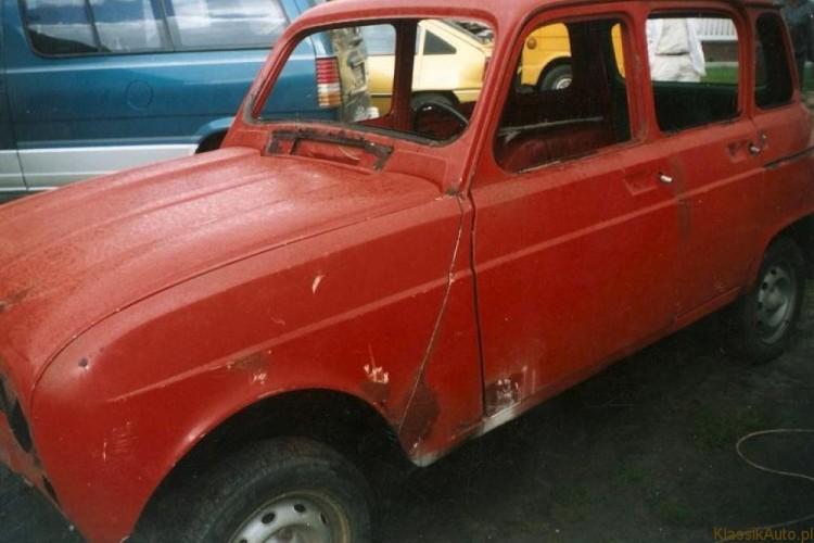 Renault 4 – opowieść renowacyjna.