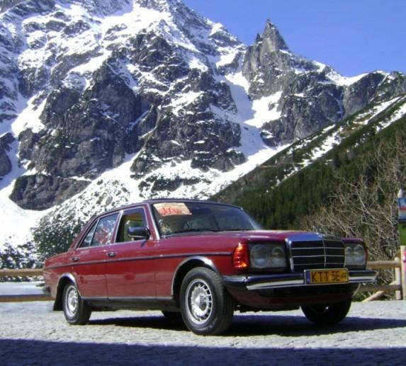 1 2010 Mercedes-Benz W 123 - Morskie Oko (4)