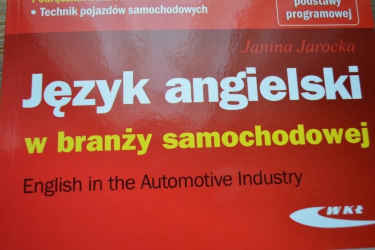 """""""Język angielski w branży samochodowej"""", J. Jarocka, WKŁ, 2015"""