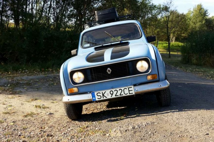 Moja historia: nabycia i remontu Renault 4.