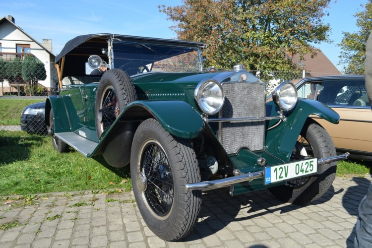 Tylko dla bogatej klienteli: Tatra 17.