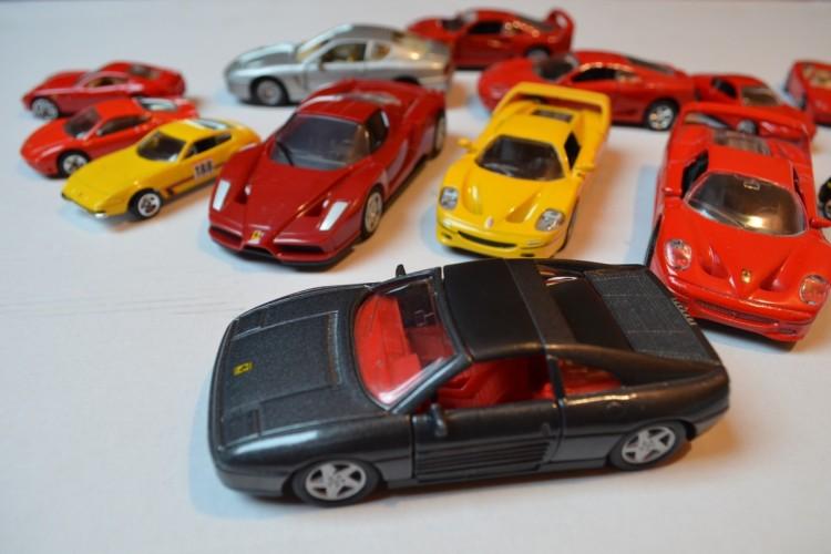 Modele Ferrari.