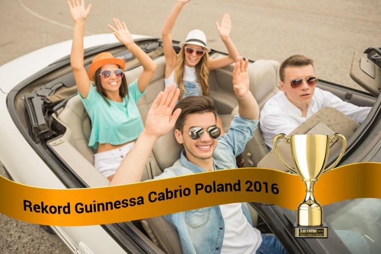 Rekord Guinnessa z Cabrio Poland? Zapisz się.
