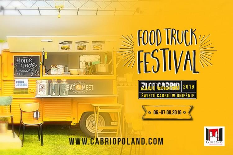 Festiwal Food Trucków w Gnieźnie.