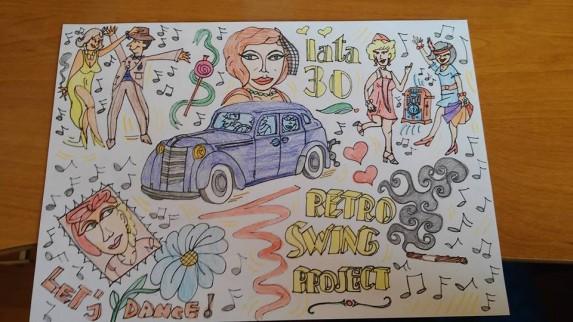 Opel Kadett i Retro Swing (5)