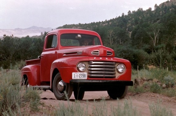 1948-2013: Ford F-Series 65th Anniversary: On January 16, 1948, the Ford Motor Company publicly revealed the iconic F-1 pickup, beginning the F-Series legacy of tough trucks. (01/15/2013)
