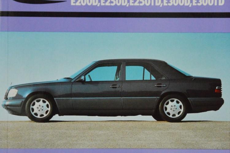 """Mercedes-Benz – E200D, E250D, E250TD, E300D, E300TD"". H. R. Etzold, WKL, 2005"