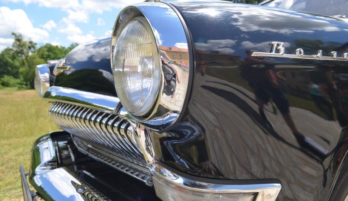Classic car z pięknymi detalami: Gaz Wołga M21