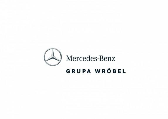 Mercedes-Benz Grupa Wróbel - Logo Vertical - 4C - Positive