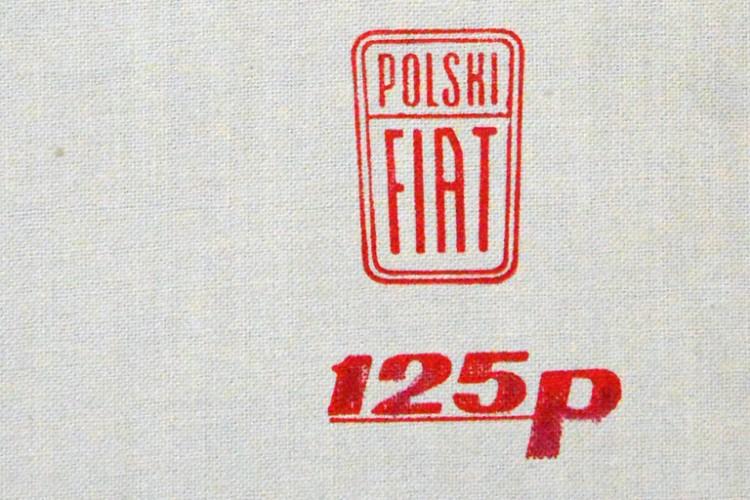 Polski Fiat 125p. Budowa, działanie, obsługa. R. Skwarek, WKŁ, 1969