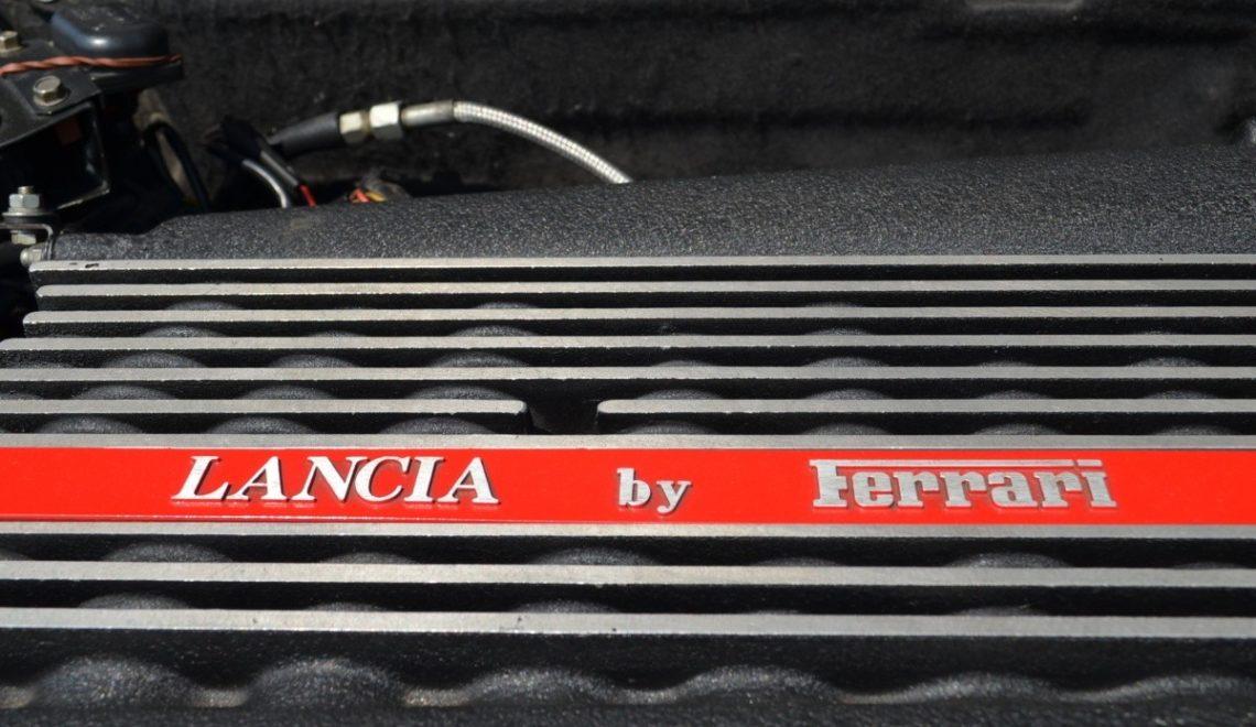 Fiat + Ferrari = Lancia Thema 8.32