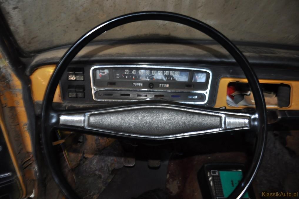 fiat 125P 1974r licznik
