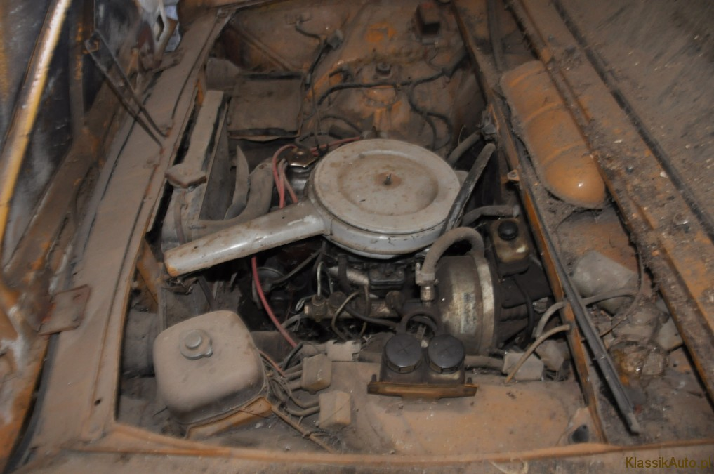 fiat 125P 1974r silnik