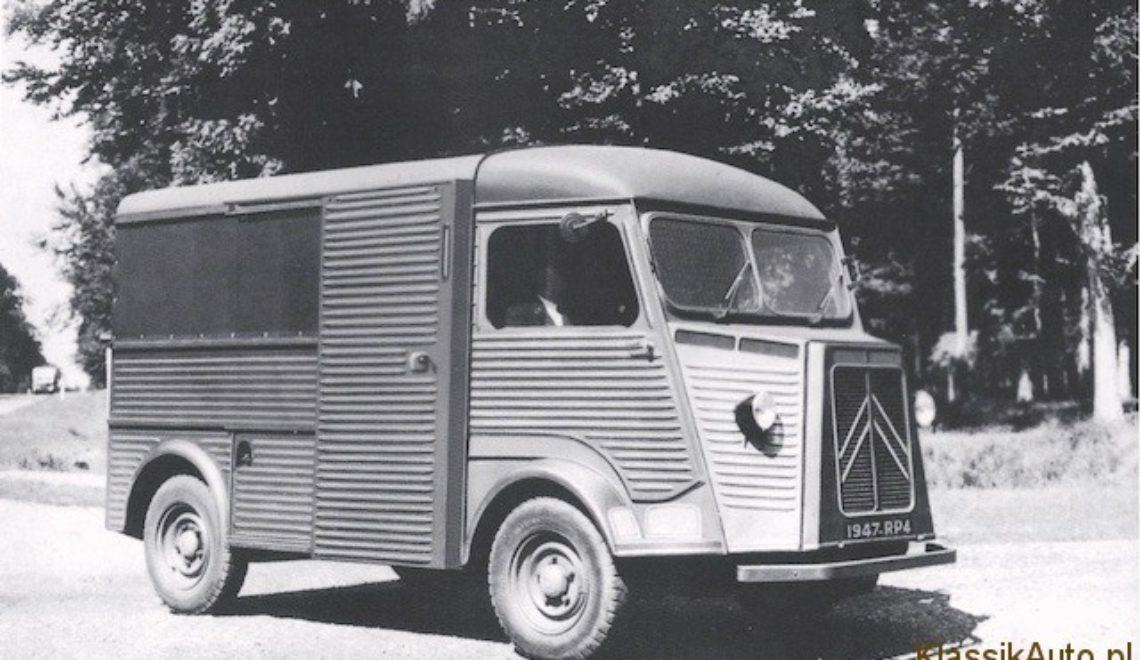 Retro Motor Show w Poznaniu – 70 lat Citroëna TYPE H