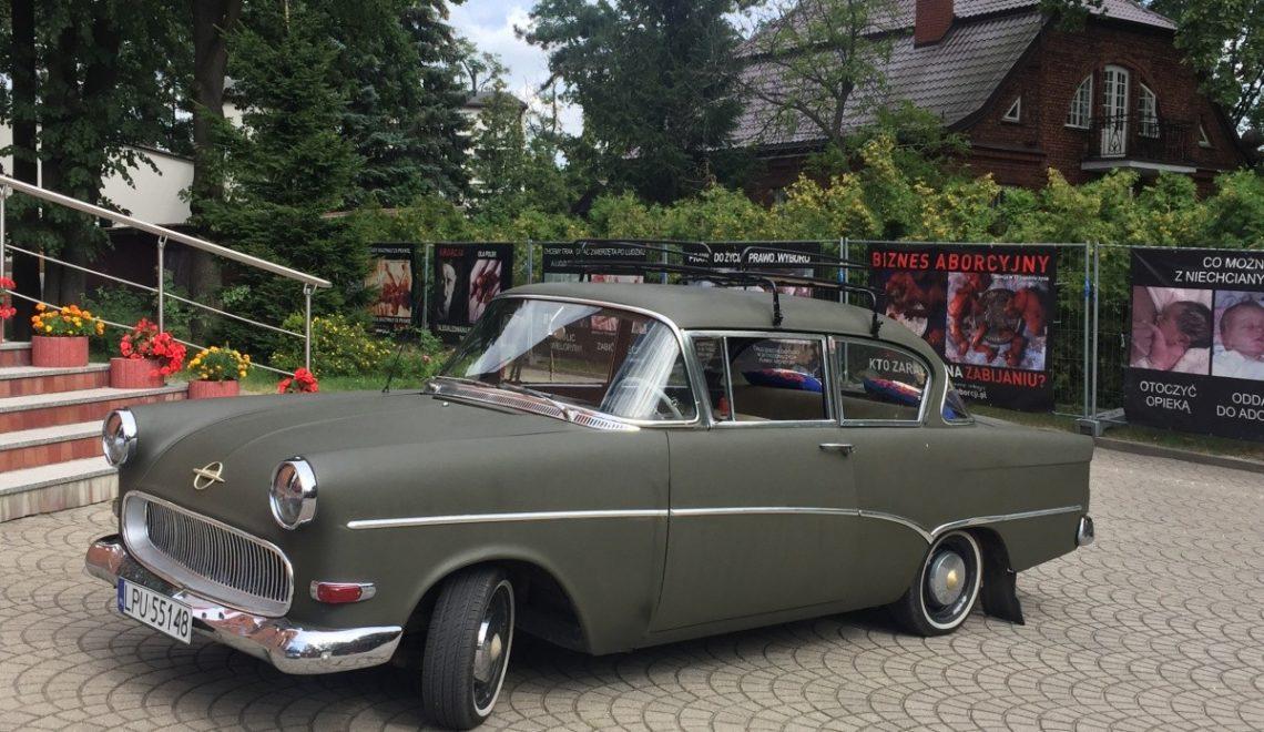 Klasyk ze Szwecji: Opel Olimpia Rekord