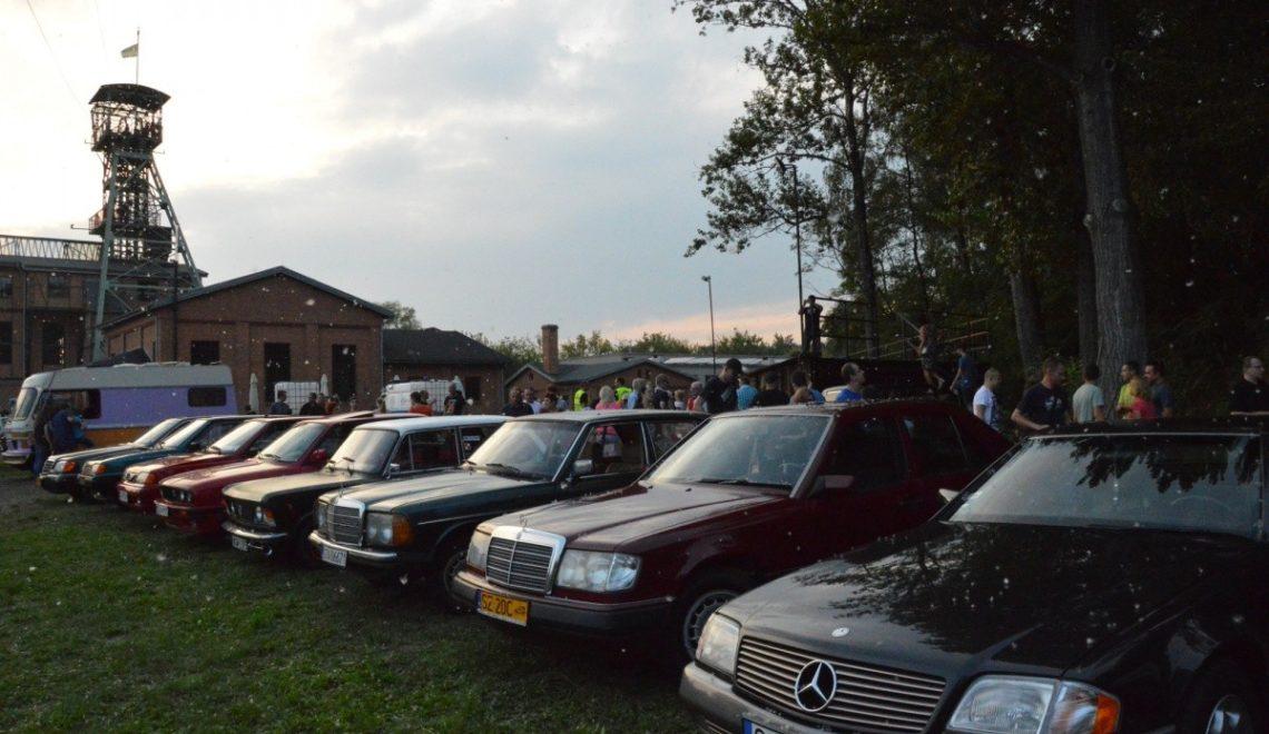 Classic car nocą w Zabrzu :)