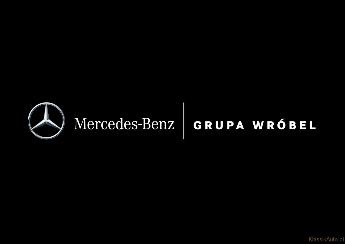 Mercedes-Benz Grupa Wróbel - Logo Horizontal - 4C - Negative wBg