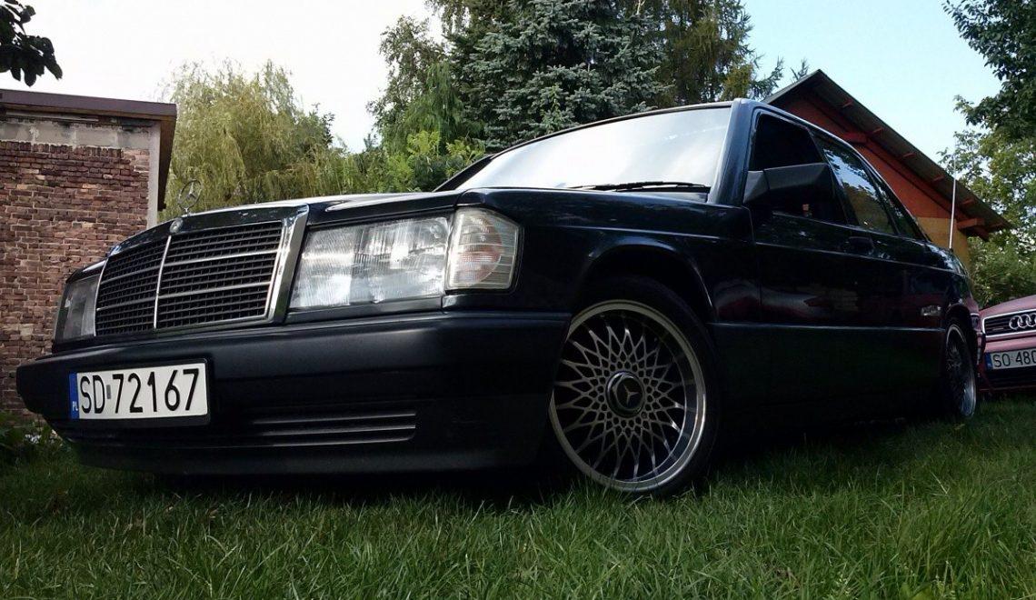 Mercedes 190 2.6E Sportline z 1989r. i walentynkowa historia