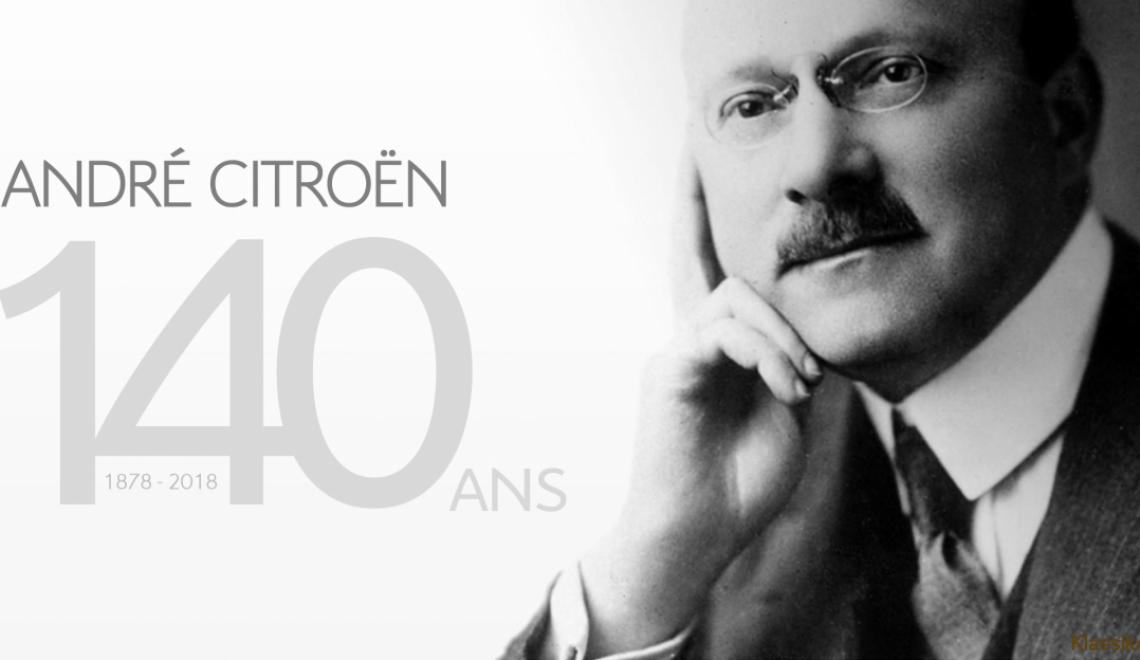 Wizjoner o polskich korzeniach:  André Citroën