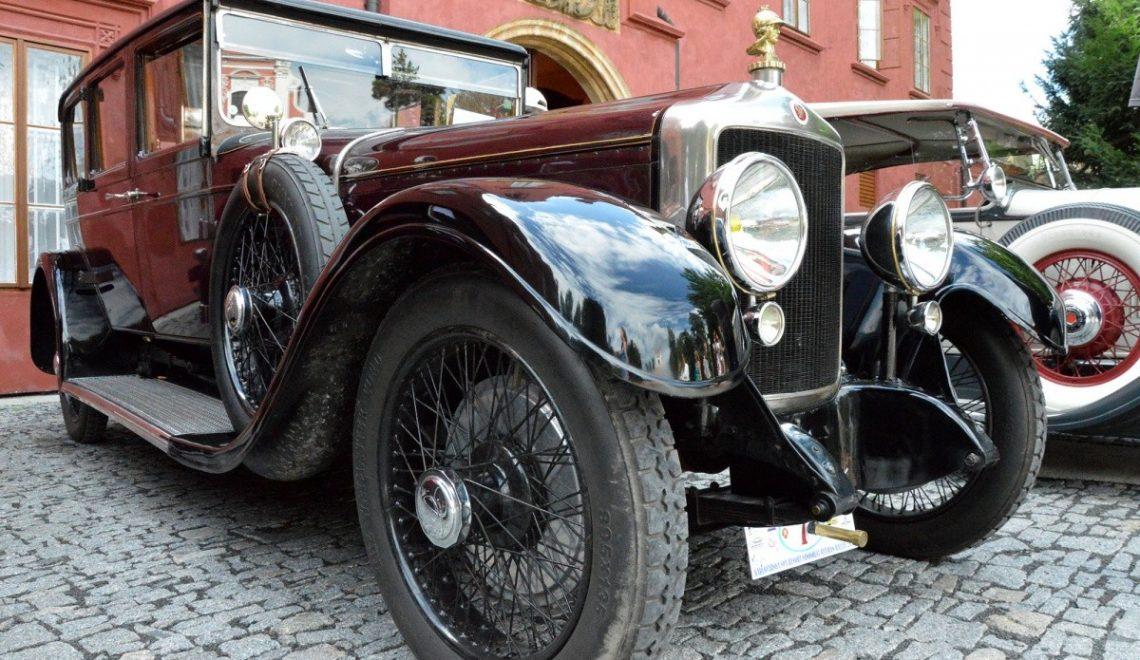 Wyrafinowane retro auta