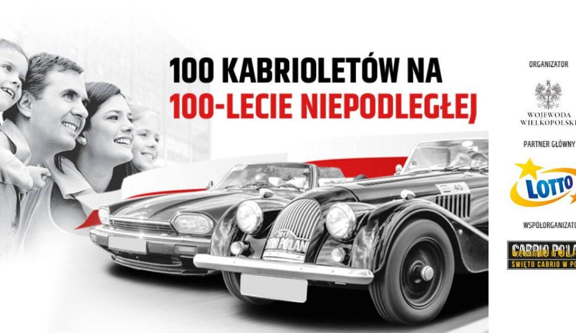 Parada kabrioletów w Poznaniu