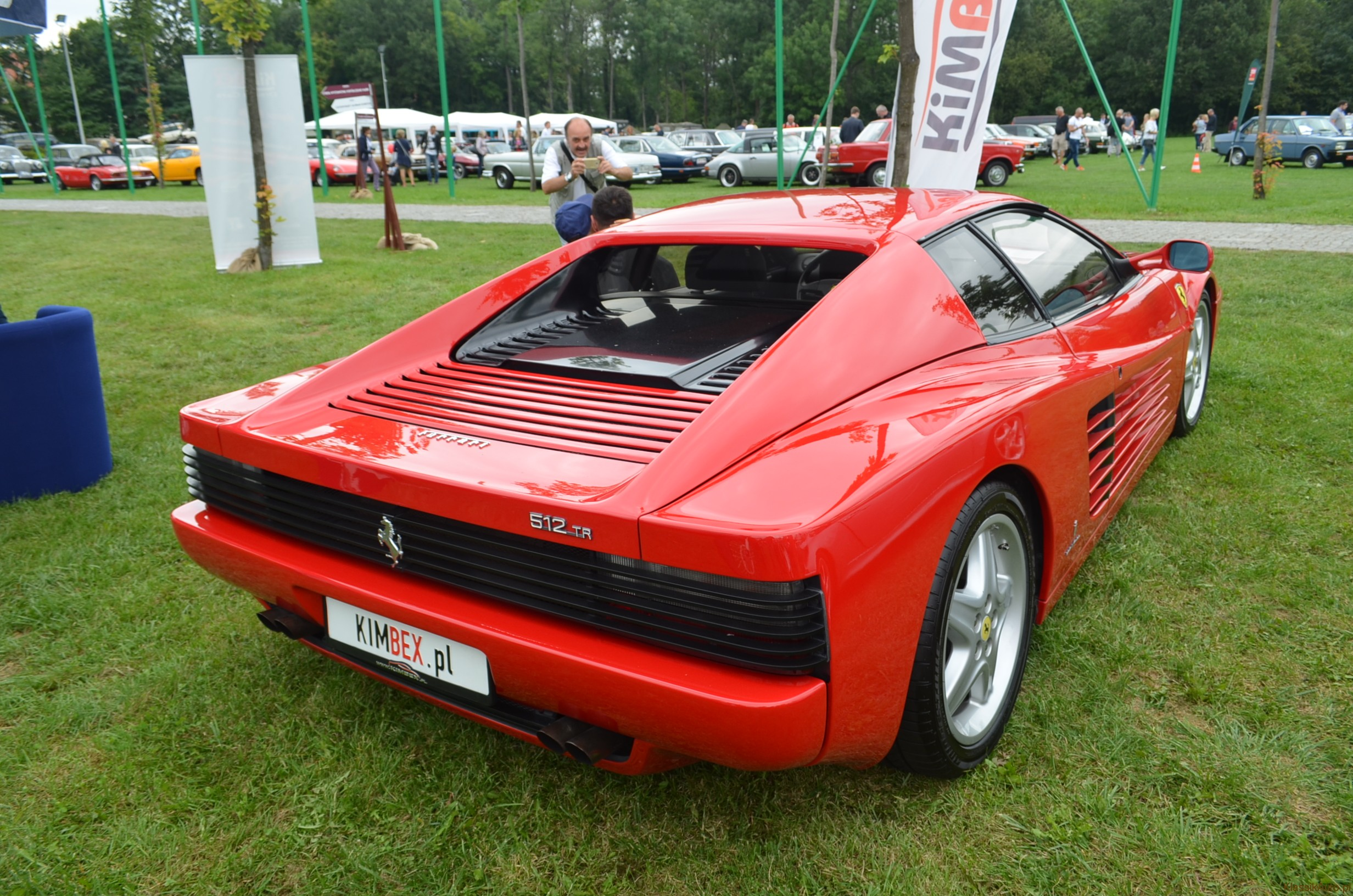 Super Car Ferrari Testarossa