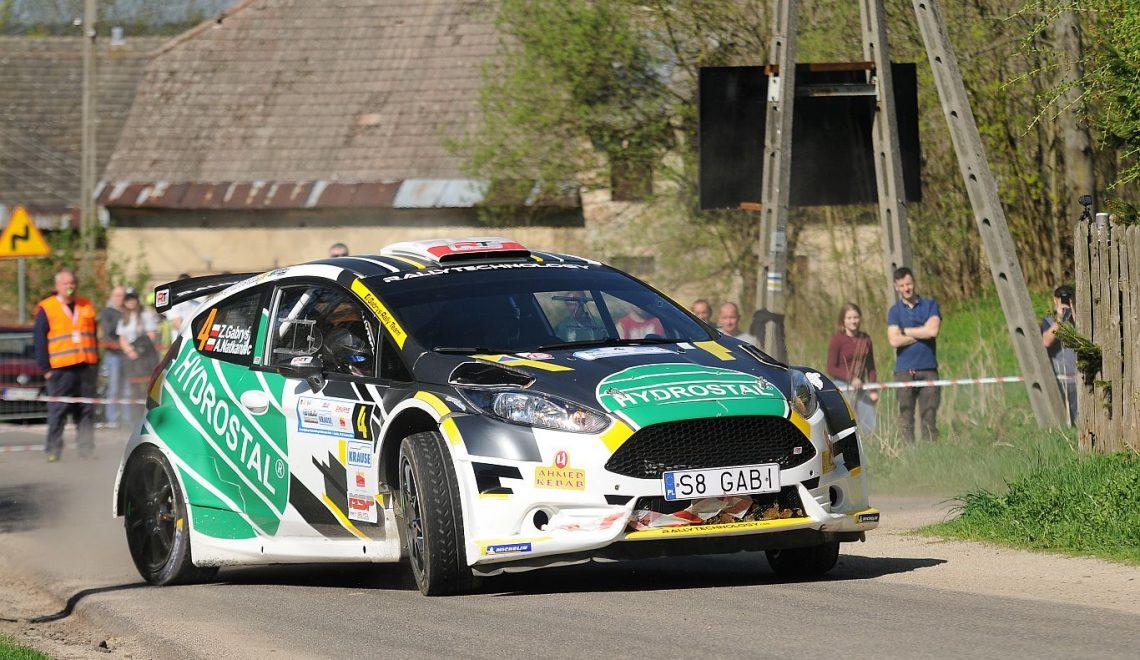 4 miejsce załogi Gabryś Rally Team…