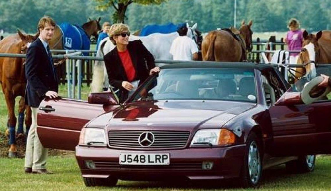 Samochody Pałacu Buckingham