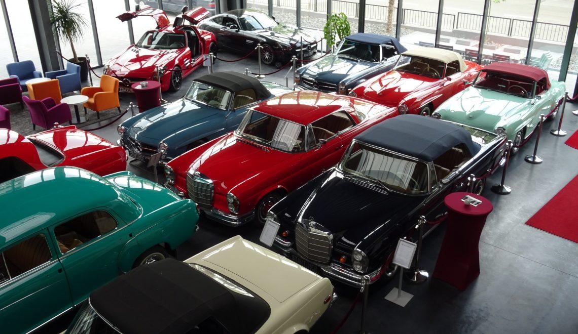 Startimer: z miłości do Mercedesa