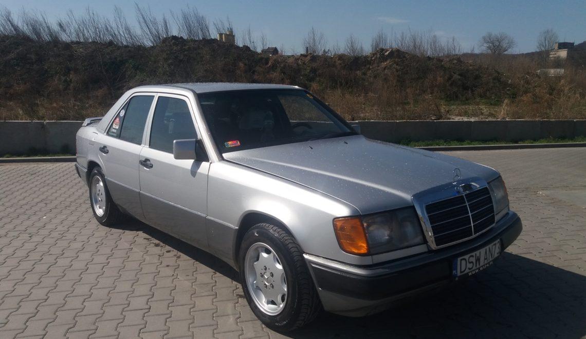 Dziadek Mercedes W124?