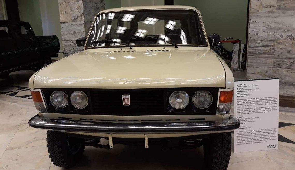 Powstało tylko kilka sztuk: Fiat 125p 4×4