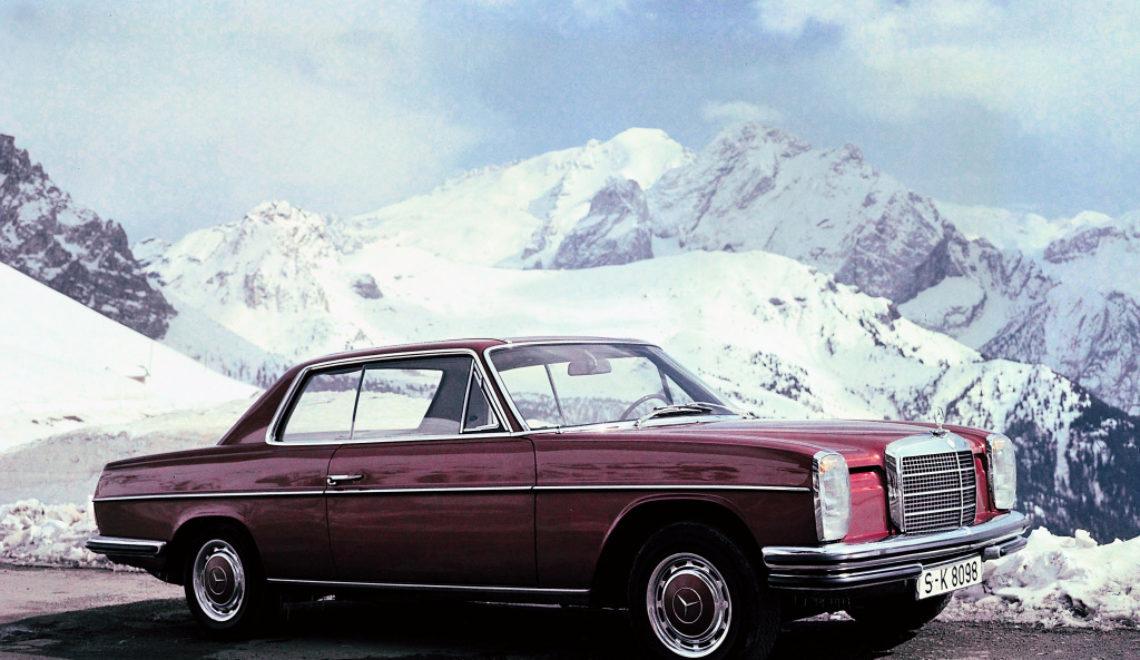 Premiera Mercedesa serii 114 w wersji coupé w 1968 r.