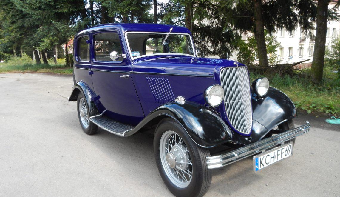 Jedyny w Polsce: Ford Y