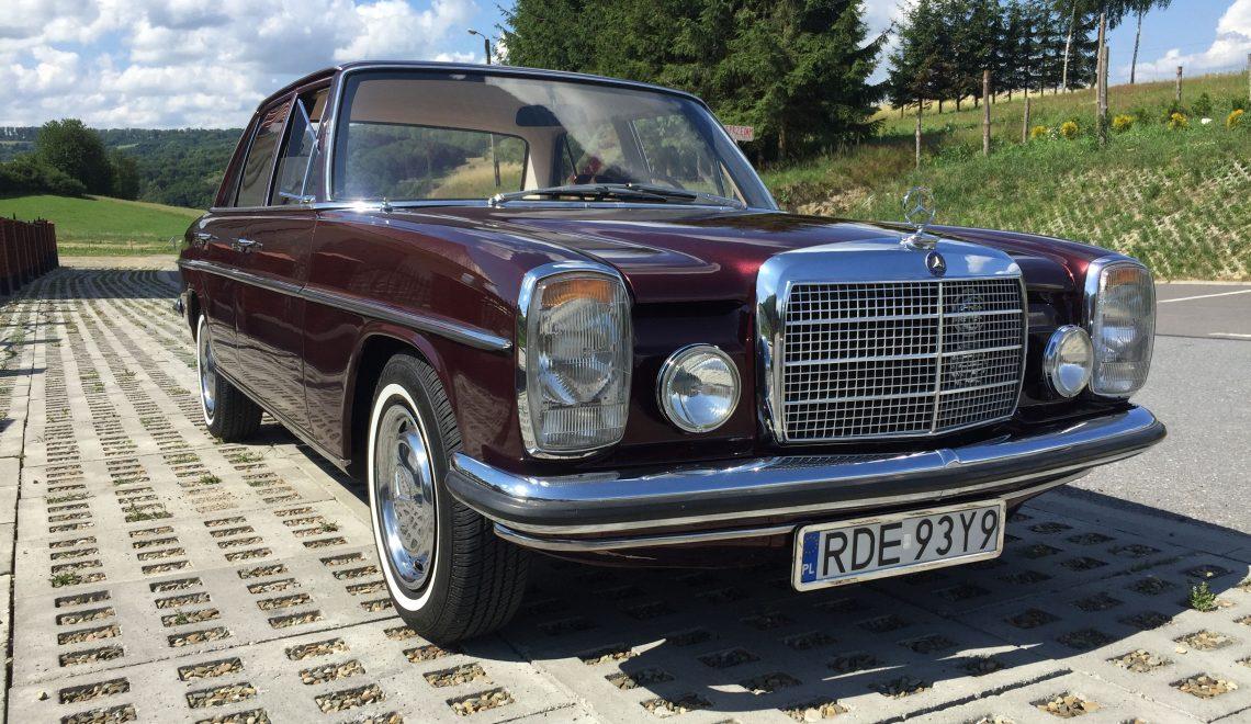 Jak remontowałem Mercedesa W115?