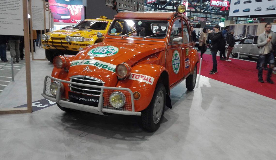 Citroen na Retro Mobile Paryż