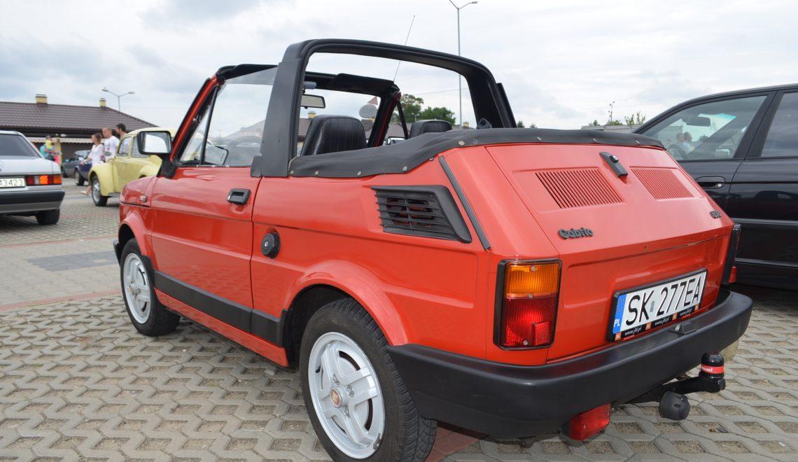 Polski kabriolet: Fiat 126p
