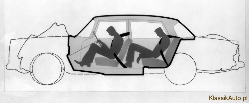 Kamienie milowe Mercedes-Benz w dziedzinie bezpieczeństwa biernego