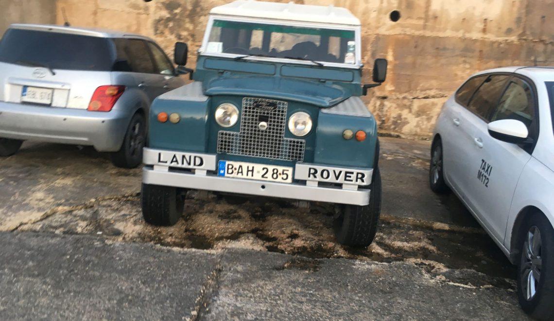 Stare samochody na Malcie