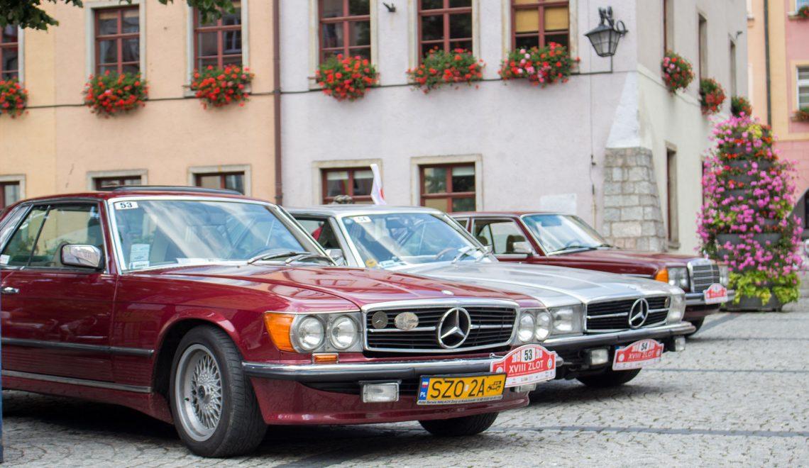 Zabytkowe Mercedesy Star Drive Poland 2019