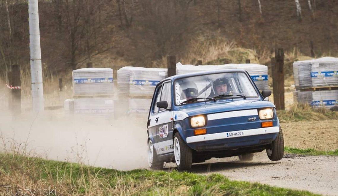 Rally car: Fiat 126p